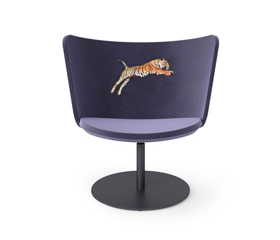 Embroidery Chair Tiger de Cappellini | Fauteuils d'attente