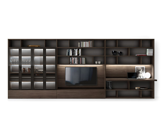 Link System by Zalf | Wall storage systems