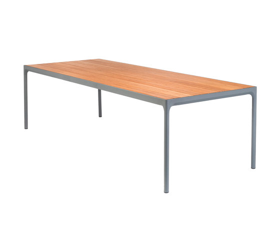 FOUR | Dining table 90x270 Grey frame by HOUE | Dining tables