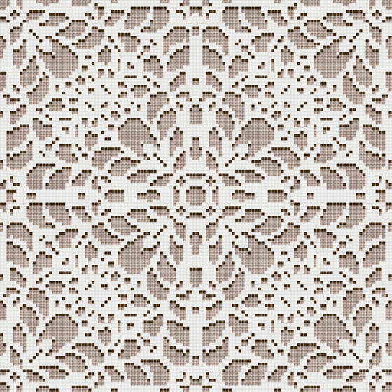Doily Beige by Mosaico+ | Glass mosaics
