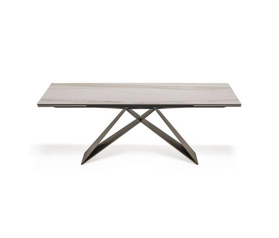 Premier Keramik Drive by Cattelan Italia | Dining tables