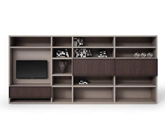 Sistema by Cappellini | Wall storage systems