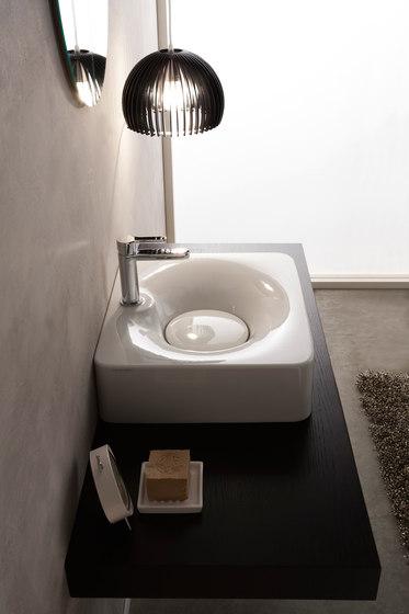 Fuji | 50R by Scarabeo Ceramiche | Wash basins
