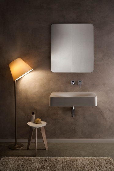 Fuji | 70 by Scarabeo Ceramiche | Wash basins