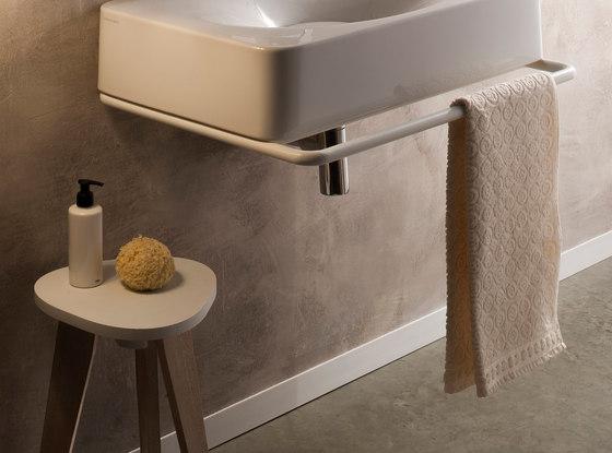Fuji   Towel Rack by Scarabeo Ceramiche   Towel rails