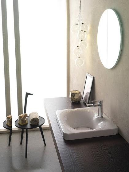 Fuji | 50 by Scarabeo Ceramiche | Wash basins