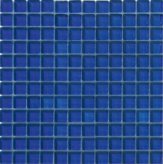 Divetro   Cobalto 23x23 de Mosaico+   Mosaïques verre