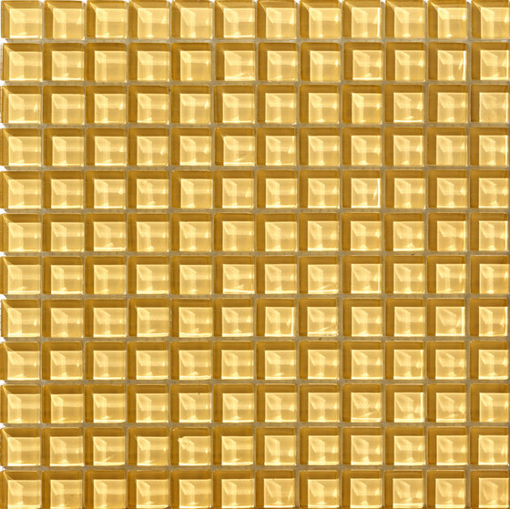 Divetro | Miele 23x23 de Mosaico+ | Mosaïques verre