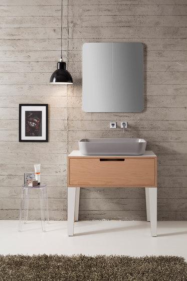 Mizu | 70 by Scarabeo Ceramiche | Wash basins