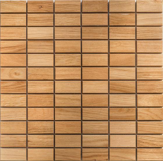 Legno | Rovere R di Mosaico+ | Mosaici legno