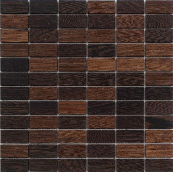 Legno | Wengè R by Mosaico+ | Wood mosaics