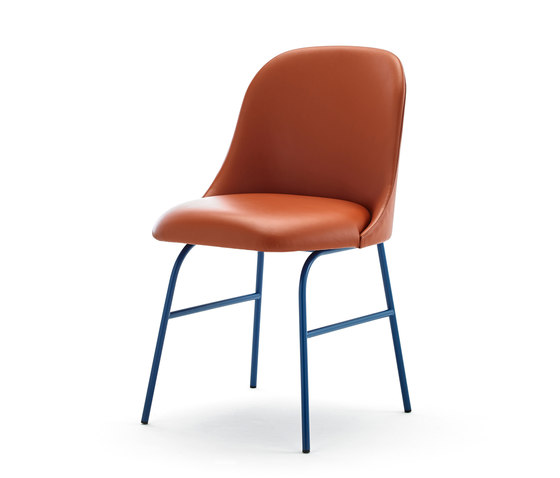 Aleta chair by viccarbe | Visitors chairs / Side chairs