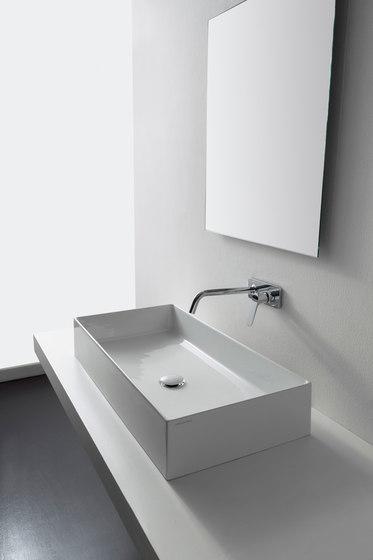 Teorema 2.0 | 80 by Scarabeo Ceramiche | Wash basins