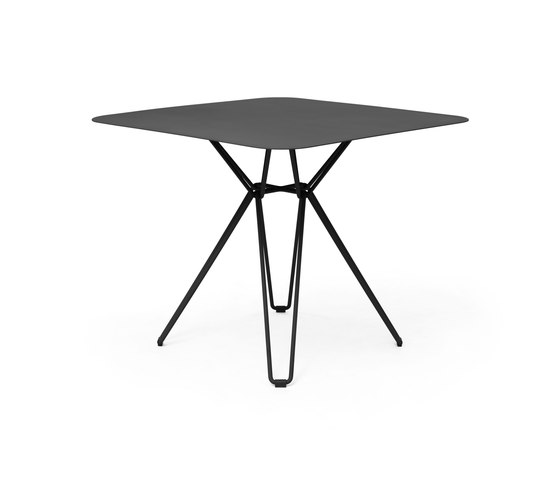 Tio Dining Table 85x85 by Massproductions | Canteen tables