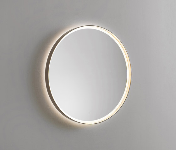 Mya | Illuminated mirror by burgbad | Wall lights