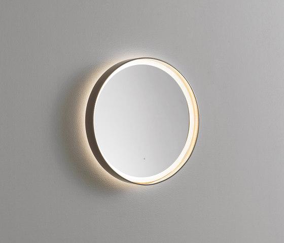Mya | Illuminated mirror by burgbad | Wall lights