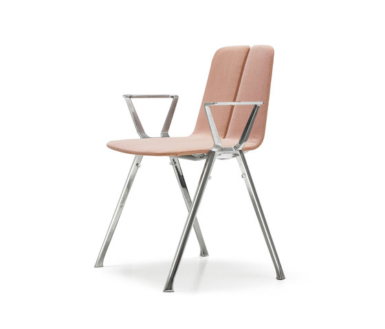 Bridge by Quinti Sedute | Visitors chairs / Side chairs