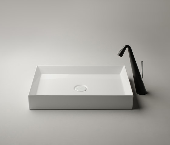 Track Sink | 60 x 38 h12 by Valdama | Wash basins