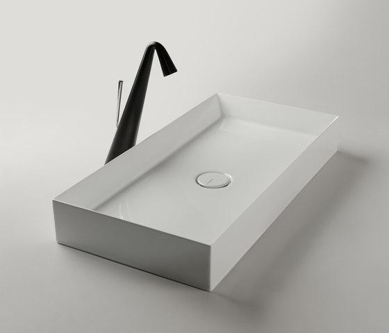 Track Sink | 70 x 35 h10 by Valdama | Wash basins