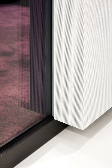 fecophon metal by Feco | Wall partition systems