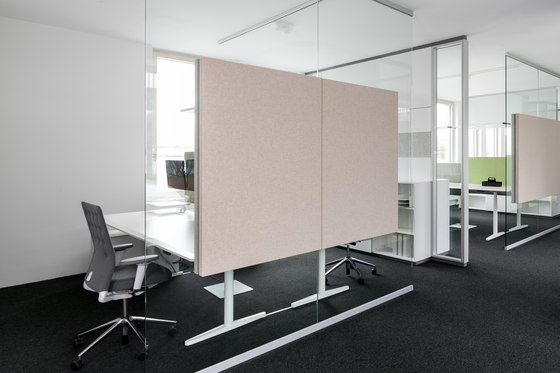 fecophon fabric by Feco   Sound absorbing wall systems
