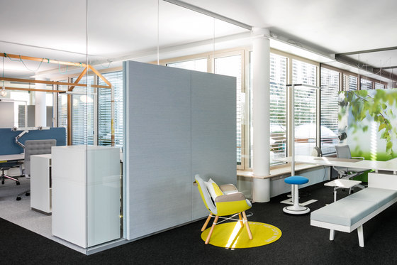 fecophon fabric by Feco | Sound absorbing wall systems