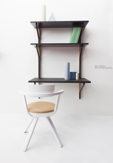 Kaari Wall Shelf with Desk REB013 de Artek | Escritorios