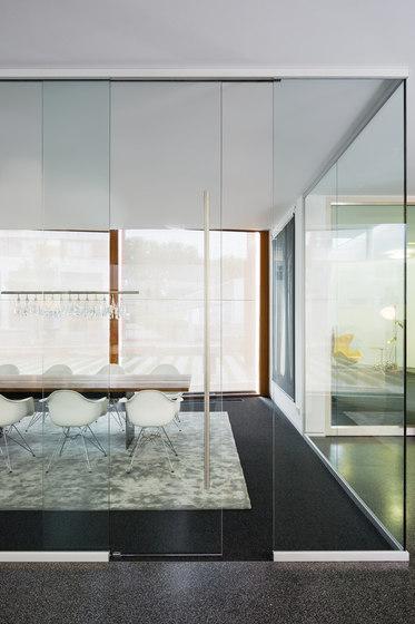 fecotür glass sliding door ST10 by Feco | Internal doors