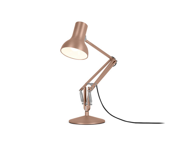Type 75™ Mini Metallic Desk Lamp de Anglepoise | Luminaires de table