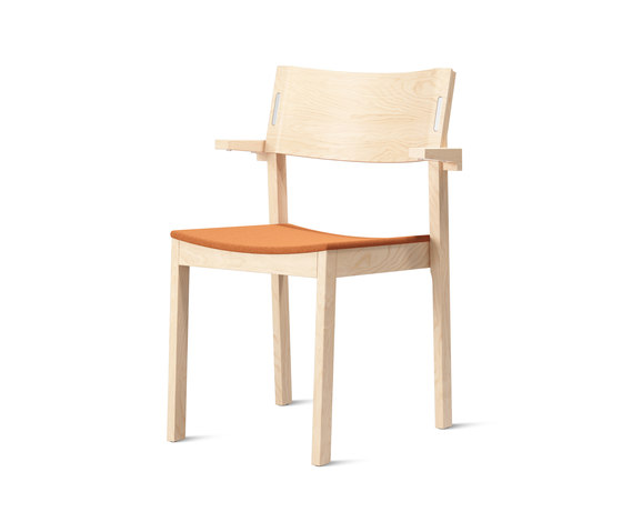 Decibel Birch S-026 de Skandiform | Chaises
