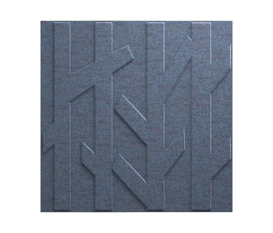 Deep Forest Blue Grey T-440S by Skandiform | Sound absorbing wall systems