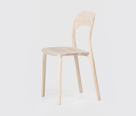 Elle Chair - Solid Wood Seat de MS&WOOD | Sillas