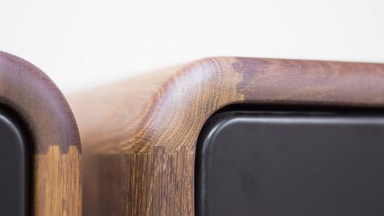 Teve | small - walnut di Wiinberg | Tavolini alti