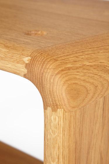 Teve | small - oak clear oil  - with recesses de Wiinberg | Mesillas de noche