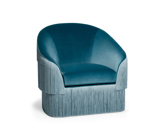 Fringes | Armchair by MUNNA | Armchairs