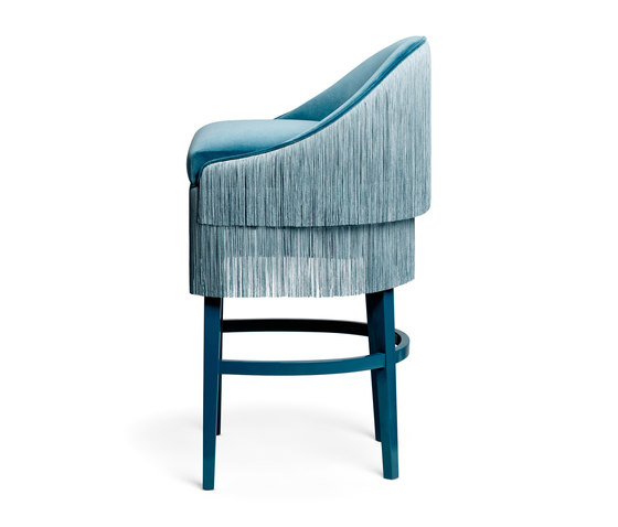 Fringes | Bar Stool von MUNNA | Barhocker