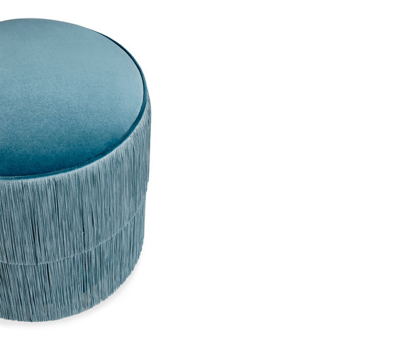 Fringes | Stool by MUNNA | Poufs