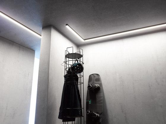 Ceiling light 40x40 | GERA light system 6 di GERA | Lampade plafoniere