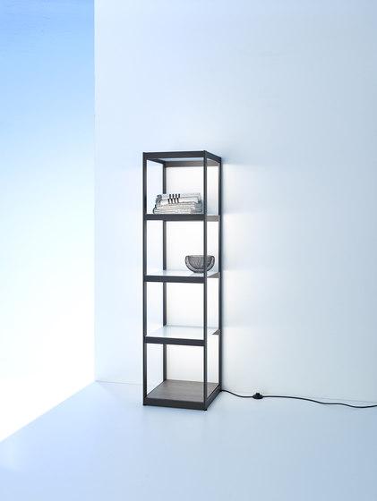 Light shelf Q40 | GERA light system 6 by GERA | Illuminated shelving