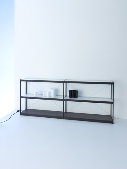 Sideboard 200 | GERA light system 6 by GERA | Illuminated shelving