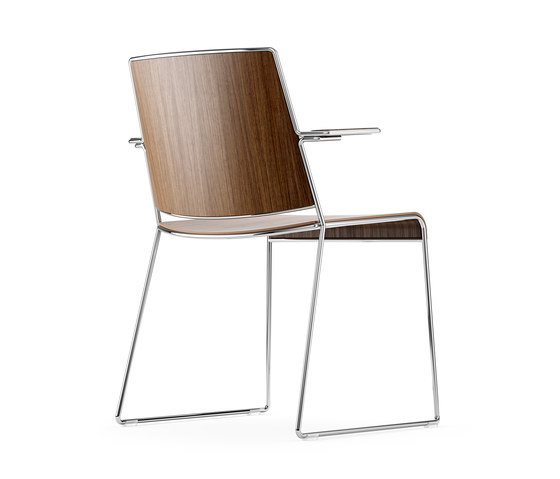 Finn Chair by ICF | Visitors chairs / Side chairs
