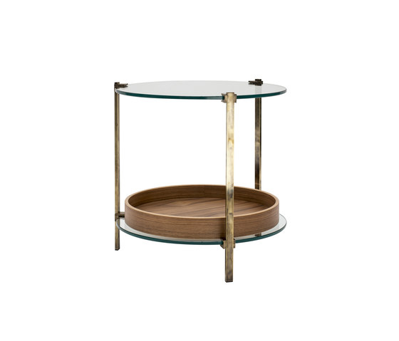 Pioneer T79DB Side table di Ghyczy | Tavolini alti