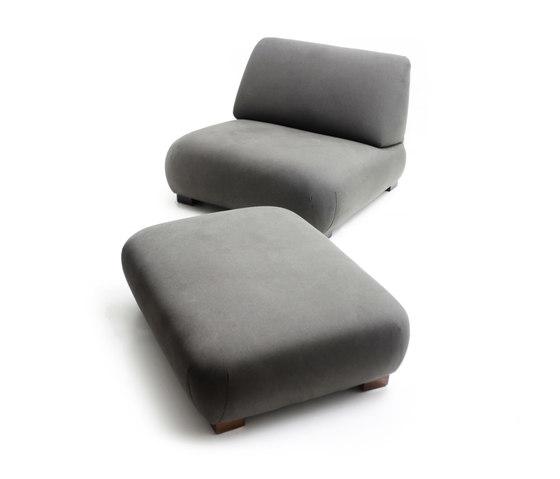 Cadaqués | Lounge Chair & Ottoman de Santa & Cole | Sillones