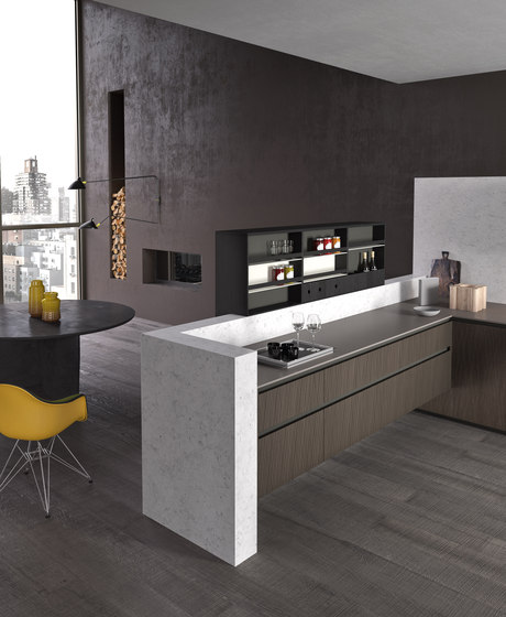 Alumina banco by Comprex | Fitted kitchens