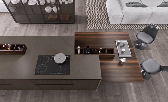 Alumina island by Comprex | Fitted kitchens