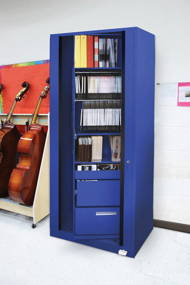 Times-2 Music Cabinet di Aurora Storage | Armadi