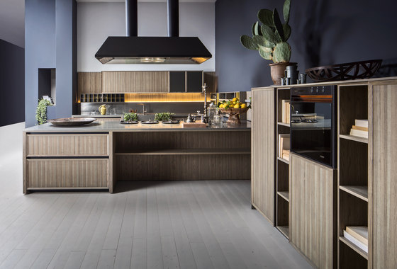 Lignum peninsula by Comprex | Fitted kitchens