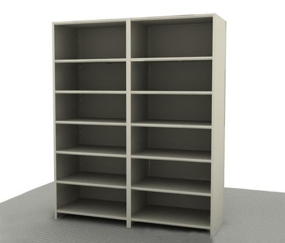 Aurora Quik-Lok Closed Shelving Add-on di Aurora Storage | Armadi
