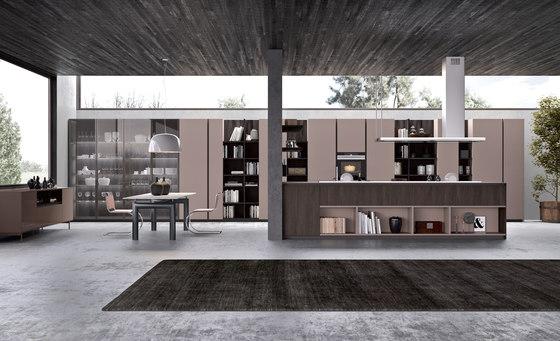Segno peninsula by Comprex   Island kitchens