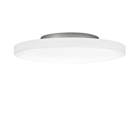 PUNTO Mounted lamp grey by RIBAG | Ceiling lights